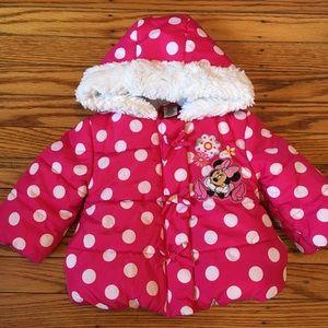 Disney's Minnie Mouse winter jacket!